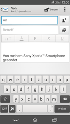 Sony Xperia E4G - E-Mail - E-Mail versenden - 5 / 16