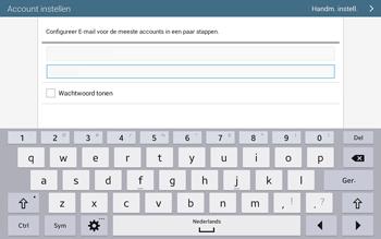 Samsung T535 Galaxy Tab 4 10-1 - E-mail - Account instellen (POP3 met SMTP-verificatie) - Stap 6