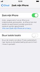 Apple iPhone 5s - iOS 12 - Beveiliging en privacy - zoek mijn iPhone activeren - Stap 12