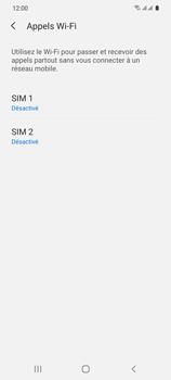 Samsung Galaxy S20 5G - WiFi - Activez WiFi Calling - Étape 7
