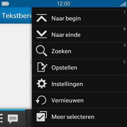 BlackBerry Q5 - SMS en MMS - Handmatig instellen - Stap 4