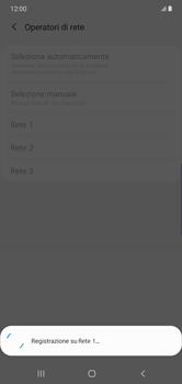 Samsung Galaxy Note 10 Plus 5G - Rete - Selezione manuale della rete - Fase 12