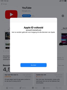 Apple iPad mini 4 iOS 12 - Applicaties - Account instellen - Stap 24