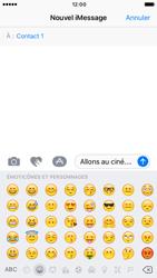 Apple iPhone 6 iOS 10 - iOS features - Envoyer un iMessage - Étape 15