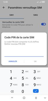 Alcatel 1S (2020) - Sécuriser votre mobile - Personnaliser le code PIN de votre carte SIM - Étape 12