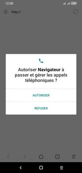 Alcatel 1S (2020) - Internet et connexion - Naviguer sur internet - Étape 4