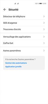 Huawei P40 - Sécuriser votre mobile - Personnaliser le code PIN de votre carte SIM - Étape 4