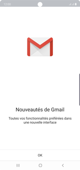 Samsung Galaxy Note10 - E-mail - Configuration manuelle (gmail) - Étape 5