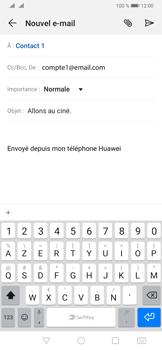Huawei P30 - E-mails - Envoyer un e-mail - Étape 9
