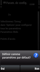 Nokia X6-00 - Internet - configuration automatique - Étape 6