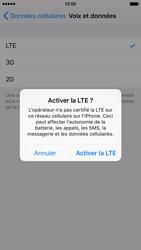Apple iPhone 6s - Internet et connexion - Activer la 4G - Étape 6