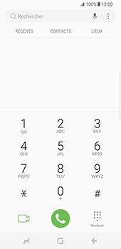 Samsung Galaxy S8 - Messagerie vocale - configuration manuelle - Étape 5