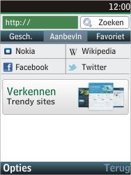 Nokia C2-05 - internet - hoe te internetten - stap 4