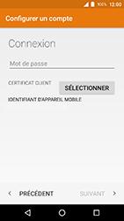 Crosscall Action X3 - E-mail - Configuration manuelle (outlook) - Étape 10