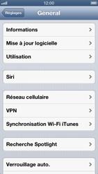 Apple iPhone 5 - Logiciels - Installation de mises à jour - Étape 6
