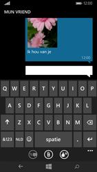 Microsoft Lumia 535 - MMS - Afbeeldingen verzenden - Stap 13
