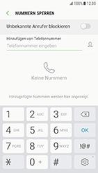 Samsung G390F Galaxy Xcover 4 - Anrufe - Anrufe blockieren - Schritt 7
