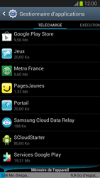 Samsung Galaxy Note 2 - Applications - Supprimer une application - Étape 9
