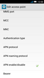 Alcatel Pop C7 - Internet and data roaming - manual configuration - Step 16
