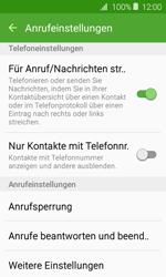 Samsung Galaxy J1 (2016) - Anrufe - Anrufe blockieren - 6 / 12