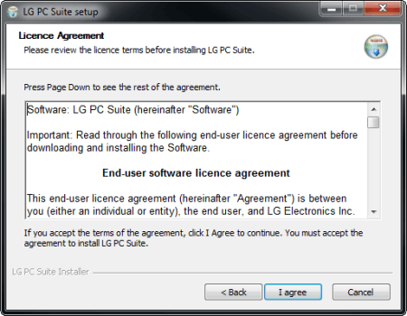 LG G3 - Software - Installing PC synchronisation software - Step 7