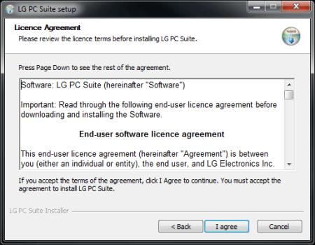 LG D955 G Flex - Software - Installing PC synchronisation software - Step 7