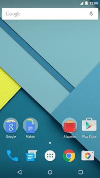 Motorola Nexus 6 - Internet - Voorbeelden van mobiele sites - Stap 1