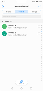 Huawei P20 - E-mail - Sending emails - Step 5