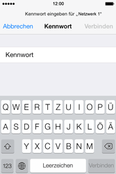Apple iPhone 4S iOS 7 - WiFi - WiFi-Konfiguration - Schritt 6