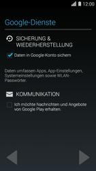 Huawei Ascend Y550 - Apps - Konto anlegen und einrichten - 13 / 22