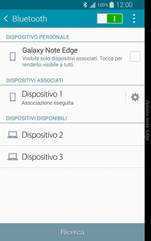 Samsung Galaxy Note Edge - Bluetooth - Collegamento dei dispositivi - Fase 8