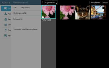 Samsung T535 Galaxy Tab 4 10-1 - E-mail - Bericht met attachment versturen - Stap 15