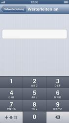 Apple iPhone 5 - Anrufe - Rufumleitungen setzen und löschen - Schritt 6