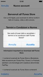 Apple iPhone 5c - iOS 8 - Applicazioni - Configurazione del negozio applicazioni - Fase 12