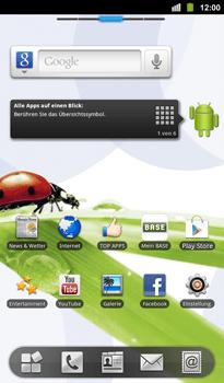 BASE Tab 7-1 - Apps - Konto anlegen und einrichten - Schritt 1