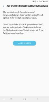 Samsung Galaxy J4+ - Fehlerbehebung - Handy zurücksetzen - Schritt 10