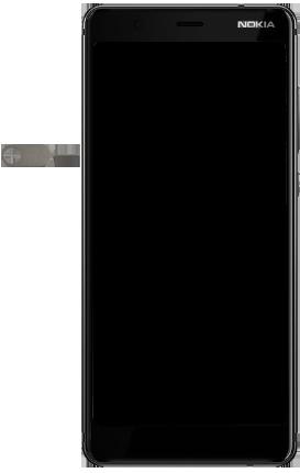 Nokia 5.1 - Appareil - comment insérer une carte SIM - Étape 7