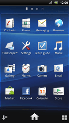 Sony Xperia Arc S - Internet - Internet browsing - Step 2
