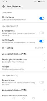 Huawei P30 - Netzwerk - Manuelle Netzwerkwahl - Schritt 5