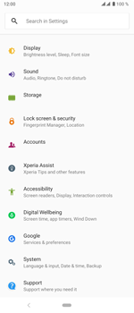 Sony Xperia 5 - Mobile phone - Resetting to factory settings - Step 4