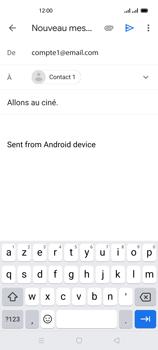 Oppo Reno 4 - E-mails - Envoyer un e-mail - Étape 8
