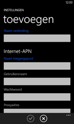 Nokia Lumia 625 - MMS - Handmatig instellen - Stap 6