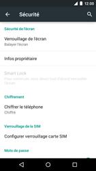 Motorola Moto E (1st Gen) (Lollipop) - Sécuriser votre mobile - Personnaliser le code PIN de votre carte SIM - Étape 5