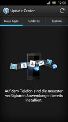 Sony Xperia U - Software - Installieren von Software-Updates - Schritt 7