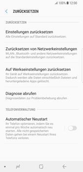 Samsung Galaxy S9 - Gerät - Zurücksetzen auf die Werkseinstellungen - Schritt 6