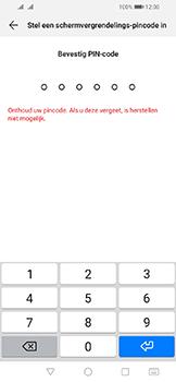 Huawei Y6 (2019) - Beveiliging - stel in of wijzig pincode voor je toestel - Stap 7