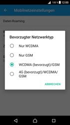 Sony E5823 Xperia Z5 Compact - Netzwerk - Netzwerkeinstellungen ändern - 0 / 0