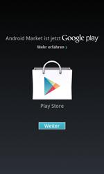 Samsung Galaxy S Advance - Apps - Einrichten des App Stores - Schritt 17