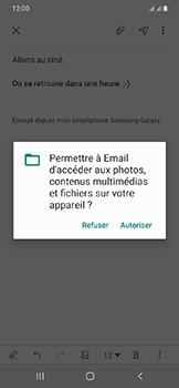 Samsung Galaxy A20e - E-mail - envoyer un e-mail - Étape 13