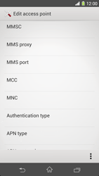 Sony Xperia Z1 - MMS - Manual configuration - Step 13